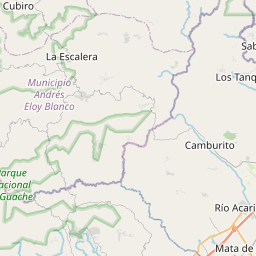 Map of Barquisimeto