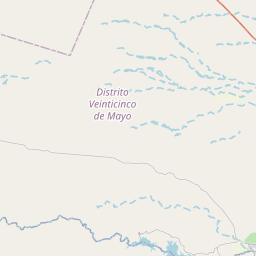 Map of Mendoza