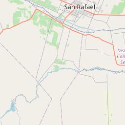 Map of Mendoza