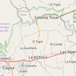 Map of Turmero
