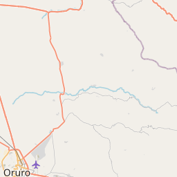 Map of Oruro