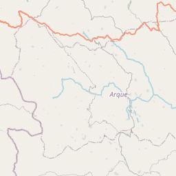 Map of Huanuni
