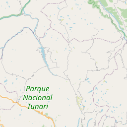 Map of Cochabamba