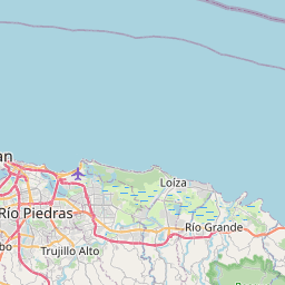 Map of Guayama