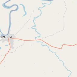 Map of Riberalta