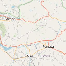 Map of Punata