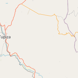 Map of Tupiza
