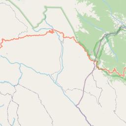 Map of Mizque