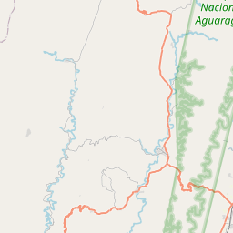 Map of Yacuiba
