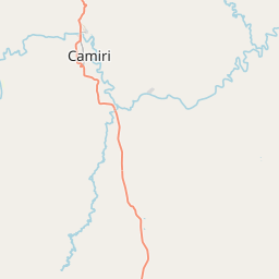 Map of Camiri