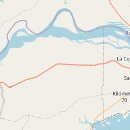 Map of Ciudad