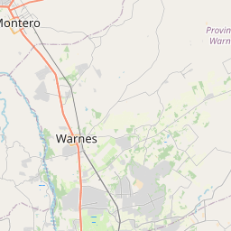 Map of Warnes