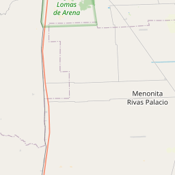 Map of Cotoca