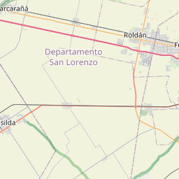 Map of Rosario