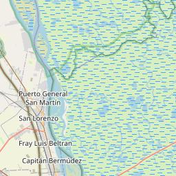 Map of Rosario