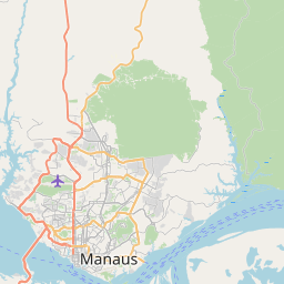 Map of Manaus