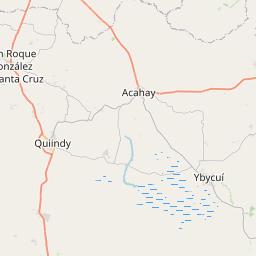 Map of Departamento