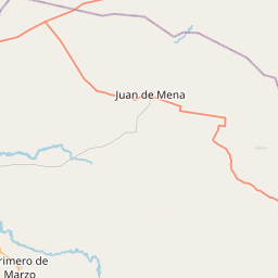 Map of Coronel