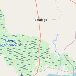 Map of Ayolas