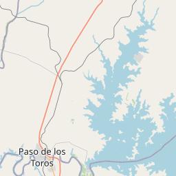 Map of Oriental