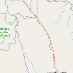 Map of Durazno