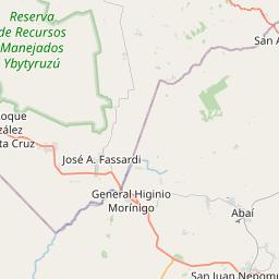 Map of Villarrica