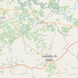 Map of Posadas