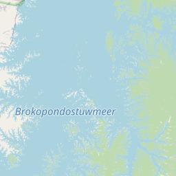 Map of Brokopondo