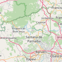 Map of Osasco