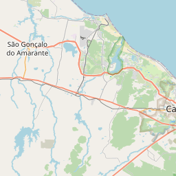 Map of Fortaleza