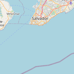 Map of Salvador
