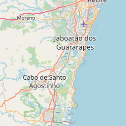 Map of Recife