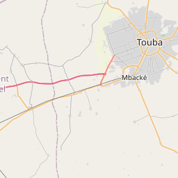 Map of Touba
