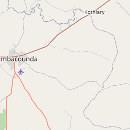 Map of Tambacounda
