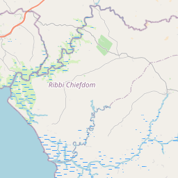 Map of Freetown