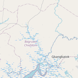 Map of Bonthe