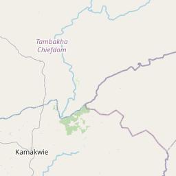 Map of Kamakwie