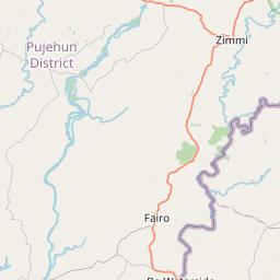 Map of Pujehun