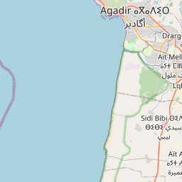 Map of Agadir