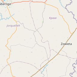 Map of Gbarnga