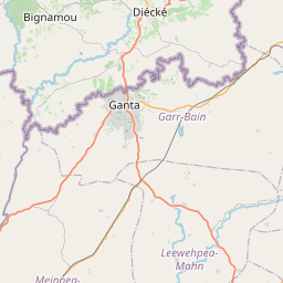 Map of New