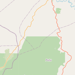 Map of Zwedru