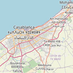 Map of Casablanca