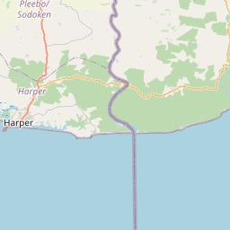 Map of Harper