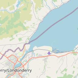 Map of Letterkenny