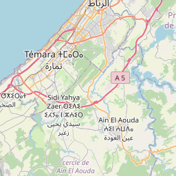 Map of Rabat
