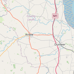 Map of Dundalk