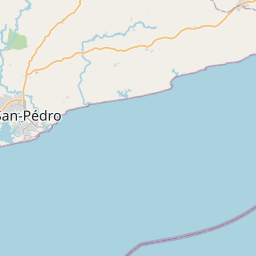 Map of San-Pédro
