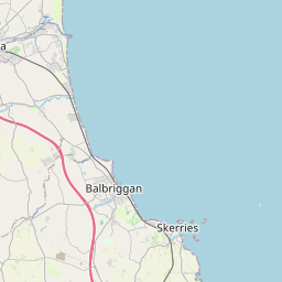Map of Balbriggan