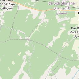 Map of Kenitra